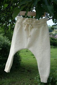 Pantalon RECYCLÉ jersey 'natural' pour BÉBÉ