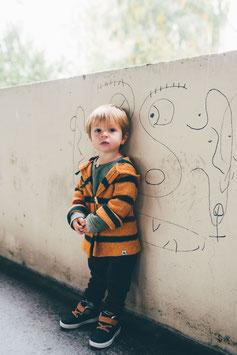 Veste à capuche RECYCLÉE pour enfant 0 à 4 ans