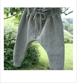Pantalon RECYCLÉ jersey 'kaki' pour BÉBÉ