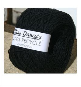 Pelote qualité coton recyclé 'noir'