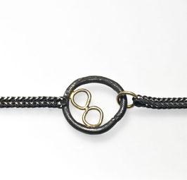 Silber Goldarmband
