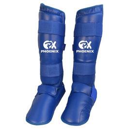Schienbein- / Fußschutz Karate Blau