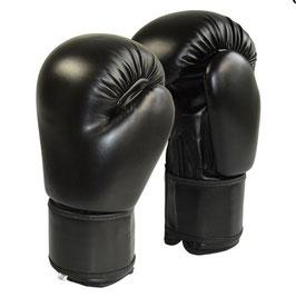 Boxhandschuh  schwarz Kunstleder