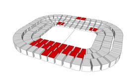 FC Bayern München - FC Augsburg Kategorie 1 Mittellinie