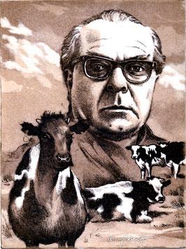 """Kühe in Halbtrauer"""