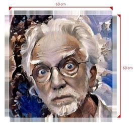 DEIN digitales Portrait als Quadrat