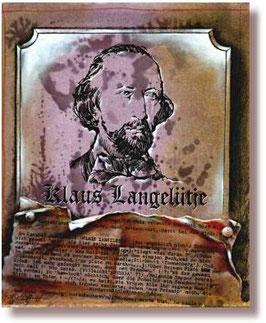 """""""Klaus Langelütje"""" Zeichnung"""