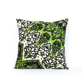 Kissenbezug Stern Mandala schwarz grün