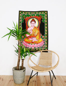Wandposter Buddha bunt