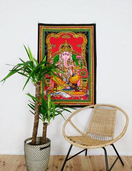 Wandposter Ganesha bunt
