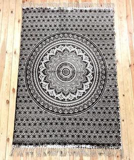 Vorleger Teppich Ombre Mandala