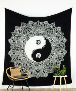 Tagesdecke Wandbehang Yin & Yang