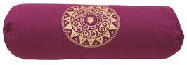 """Designer Yoga Bolster Rolle - """"Ur-Mandala Variation"""""""