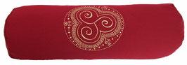 """Designer Yoga Bolster Rolle - """"Trio Kharma"""""""