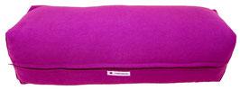 Yoga Bolster eckig  rotviolett +