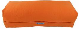 Yoga Bolster eckig orange +
