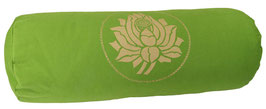 """Lotus"" kiwi Designer Yoga Bolster Rolle"