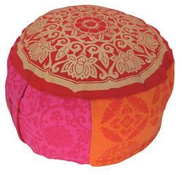 """Rajastan-Lotus Kreis"" Designer Meditationskissen Gr.M"