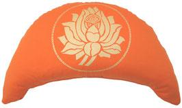 """Designer Halbmond Meditationskissen """"Lotus"""""""