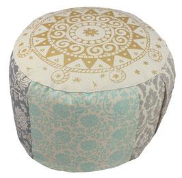 """""""Tahantan Ur-Mandala"""" Designer Meditationskissen Gr.L"""