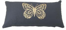 """""""Butterfly"""" anthrazit Designer Yoga-Universal-Genie Kissen"""