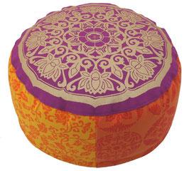 """""""Bollywood"""" Lotus Kreis Designer Meditationskissen Gr.M"""
