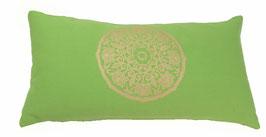 """Lotus Kreis"" apfel Designer Yoga-Universal-Genie Kissen"