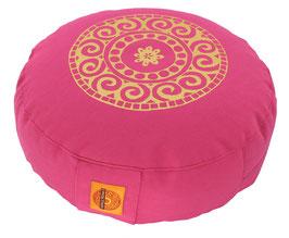 "Designer Meditationskissen Gr.S ""Mandala"" pink"