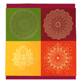 """Designer Wand-Behang """"Module-Art"""" 2x2 - """"Autumn-Colors"""""""