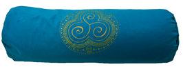 """Trio Kharma"" petrol Designer Yoga Bolster Rolle"