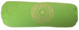 """Mandala"" apfel Designer Yoga Bolster Rolle"