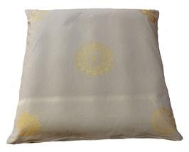 "Designer Meditations-Matte / Zabuton beige ""Ur-Mandala Variation"