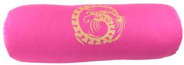 "Pink ""Dragon""  Designer Yoga Bolster Rolle"
