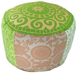 """""""Greeny"""" Designer Meditationskissen Gr.L"""