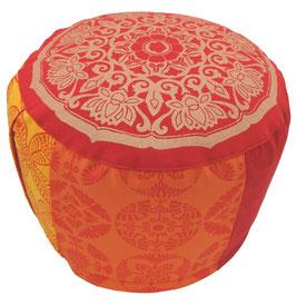 """Lotus Kreis India"" Designer Meditationskissen Gr.L"