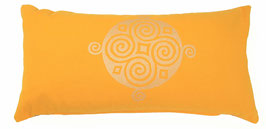 """Four Seasons"" sonne Designer Yoga-Universal-Genie Kissen"