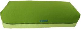 Yoga Bolster eckig kiwi + hellgrün