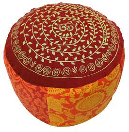 """Shivamogga Om Ranki"" Designer Meditationskissen Gr.L"