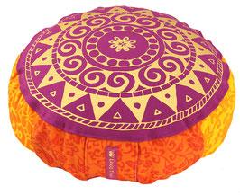 """Bollywood 16"" Designer Meditationskissen Yogakissen Gr.S"