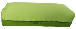 Yoga Bolster eckig hellgrün + kiwi