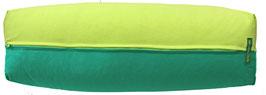 Yoga Bolster eckig hellgrün + seegrün