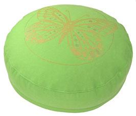 """Designer Meditationskissen Gr.S """"Butterfly"""" apfel"""