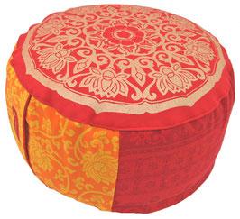 """""""Lotus Kreis India"""" Designer Meditationskissen Gr.M"""