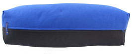 Yoga Bolster eckig  royal + anthrazit