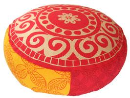 """""""Indien Reise"""" Designer Meditationskissen Yogakissen Gr.S"""