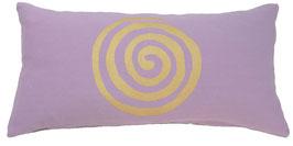 """""""Spirale"""" flieder Designer Yoga-Universal-Genie Kissen"""