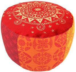 """Indien Reise"" Designer Meditationskissen Gr.L"