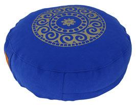 "Designer Meditationskissen Gr.S ""Mandala"" royal"
