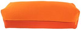 Yoga Bolster eckig orange + dunkelorange