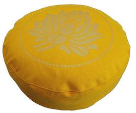 """Designer Meditationskissen Gr.S """"Lotus"""" sonne"""